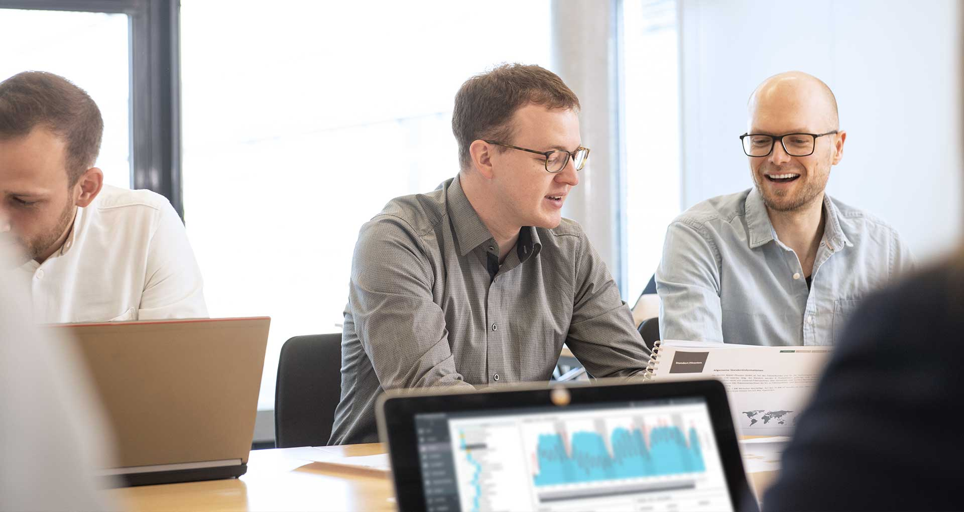 GILDEMEISTER energy efficiency - Hintergrundbild: Leistungen für Ihr Unternehmen