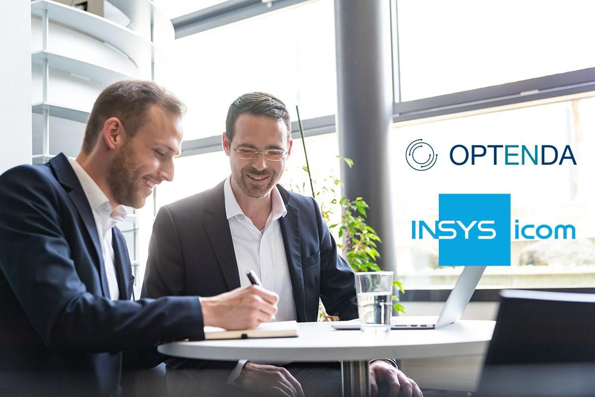 OPTENDA - News: Kooperation mit INSYS icom