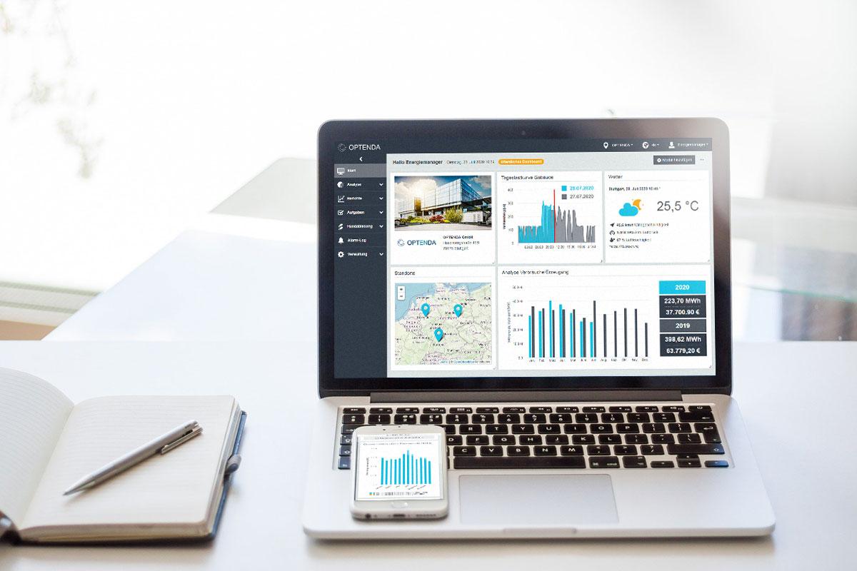 Energy Monitor von OPTENDA