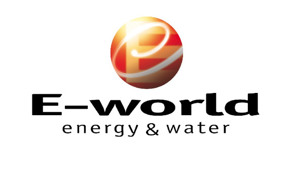 Logo E-world energy & water GILDEMEISTER energy efficiency