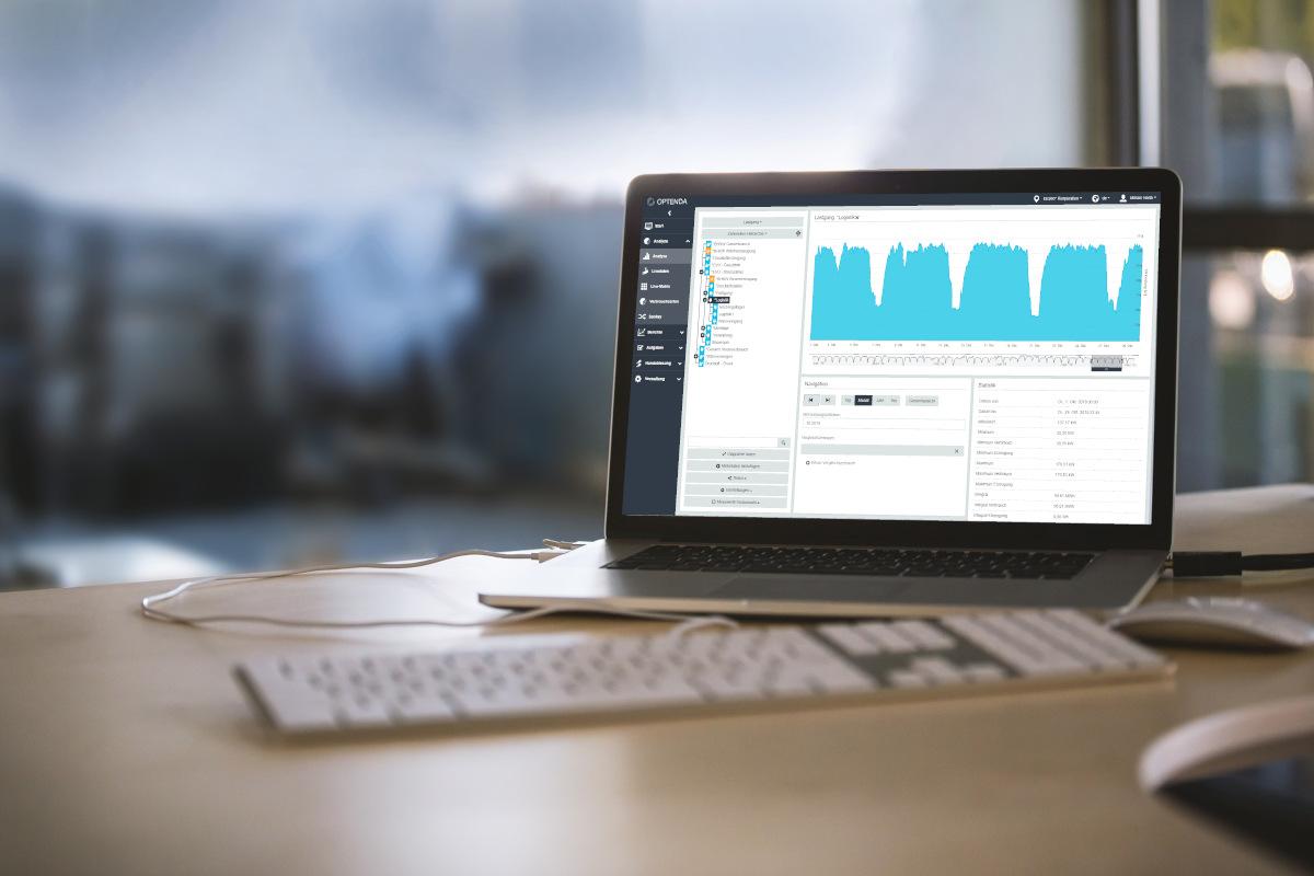 OPTENDA Energy Monitor Energiemonitoring-Projekt