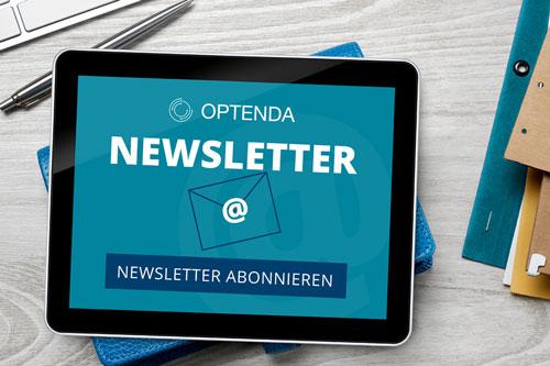 Anmeldung zum OPTENDA Newsletter