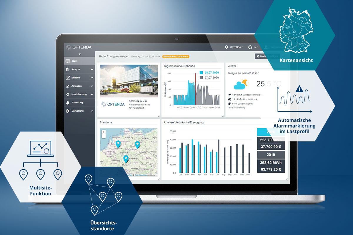 Uptdate Energy Monitor 3.0 von OPTENDA