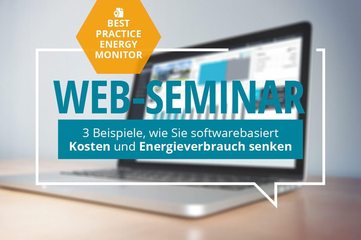 OPTENDA Web-Seminar Best Practice Energy Monitor