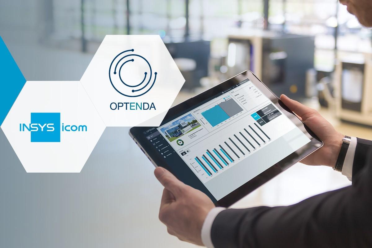 OPTENDA Kooperation mit INSYS icom
