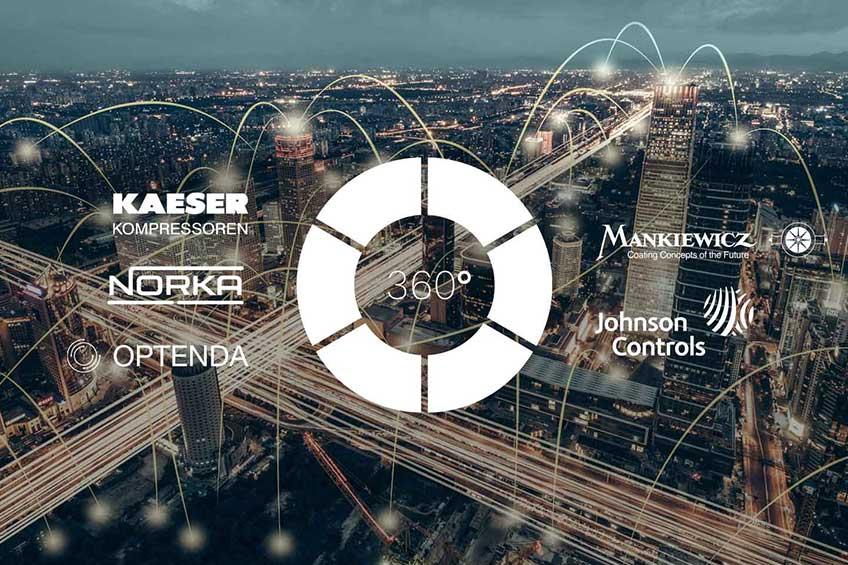 Netzwerk Energieeffizienz 360° Logo