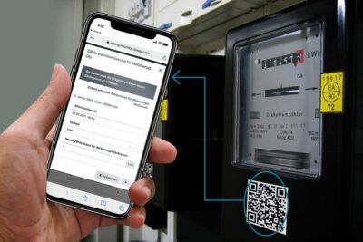Manuelle Zählerstandserfassung per Smartphone mit dem Energy Monitor von OPTENDA
