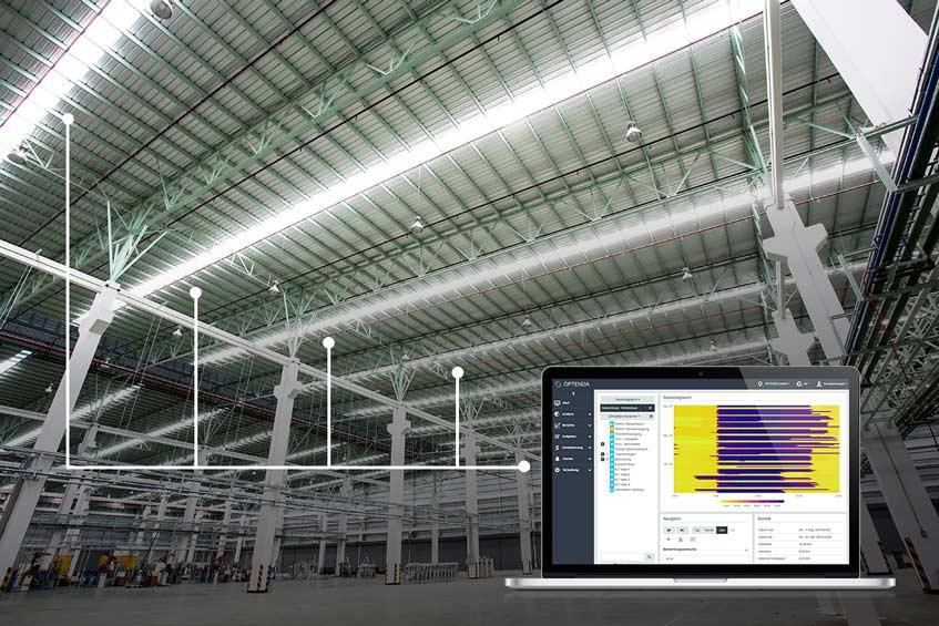 Effizienzsteigerung Beleuchtung durch Rasteranalyse für Einsparung an CO2