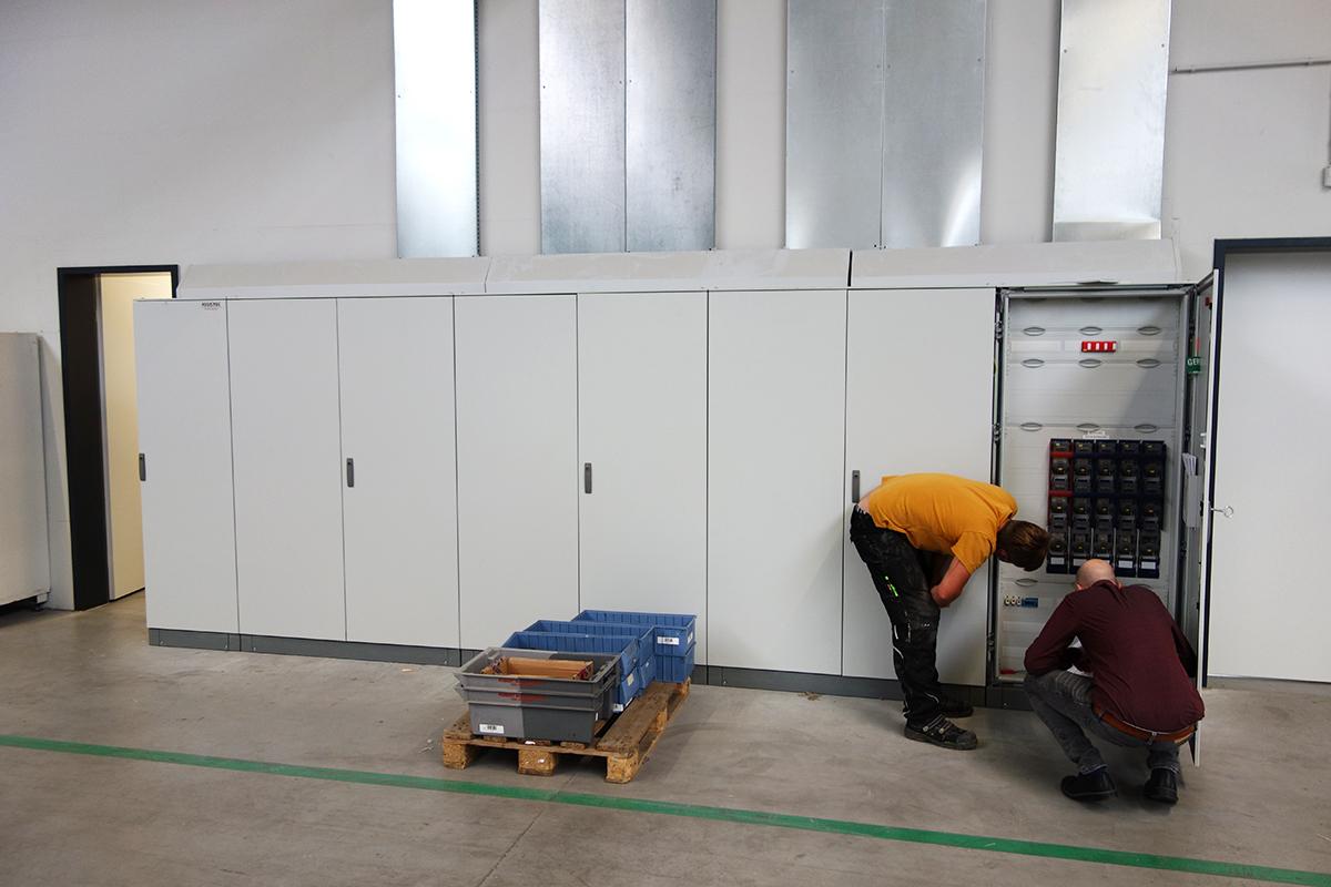 Standortbegehung für Messkonzept Elektriker und OPTENDA-Ingenieur